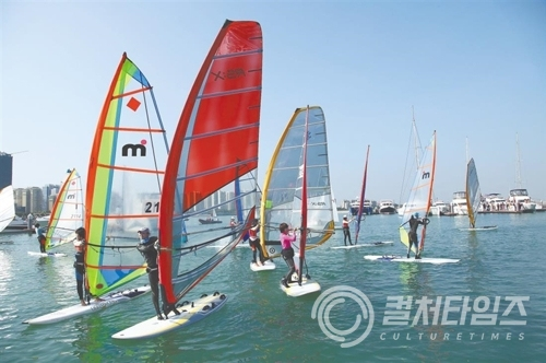 ▲Haikou National Sailing Base (출처 : 아시아넷 )